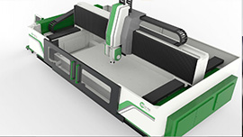 Green Vine 5 axis CNC working center