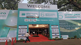 GREEN VINE ATTENDED GLASSPRO EXPO IN INDIA